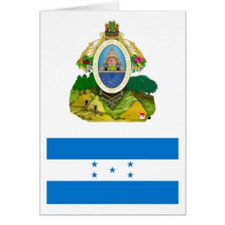 Honduras Flag HN Card