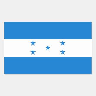 Honduras Flag HN Rectangular Sticker