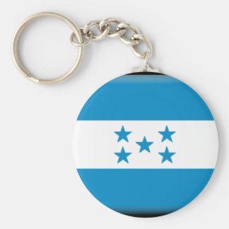 Honduras Flag Keychain