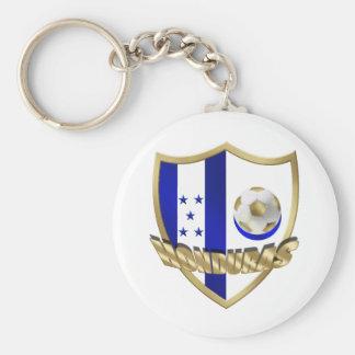 Honduras flag logo emblem La Catrachos Shield Keychain