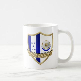 Honduras flag logo emblem La Catrachos Shield Mugs