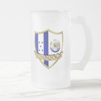 Honduras flag logo emblem La Catrachos Shield Coffee Mugs