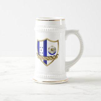Honduras flag logo emblem La Catrachos Shield Coffee Mug