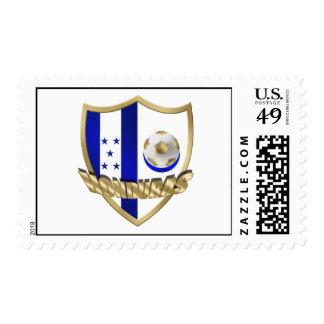 Honduras flag logo emblem La Catrachos Shield Postage