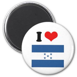 Honduras Flag Refrigerator Magnet