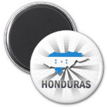 Honduras Flag Map 2.0 Magnets