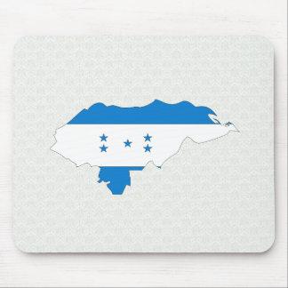 Honduras Flag Map full size Mouse Pads