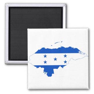 Honduras Flag Map HN Refrigerator Magnet