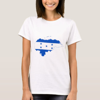 Honduras Flag Map HN T-Shirt