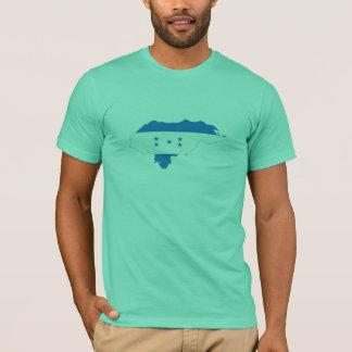 Honduras flag map T-Shirt