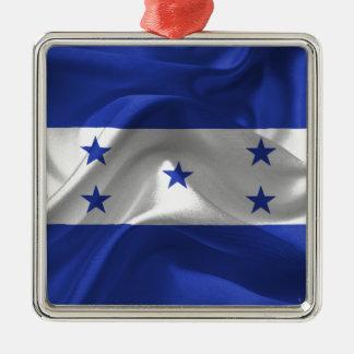 honduras-Flag Metal Ornament