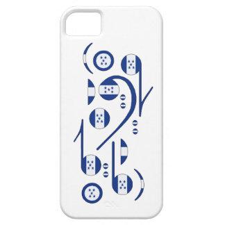 Honduras Flag Music Notes iPhone SE/5/5s Case