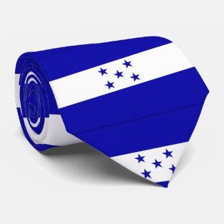 Honduras flag neck tie