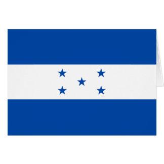 Honduras Flag Notecard Greeting Card