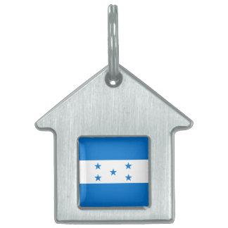 Honduras Flag Pet ID Tag