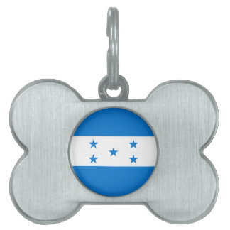 Honduras Flag Pet Name Tag