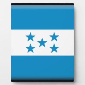 Honduras Flag Plaque