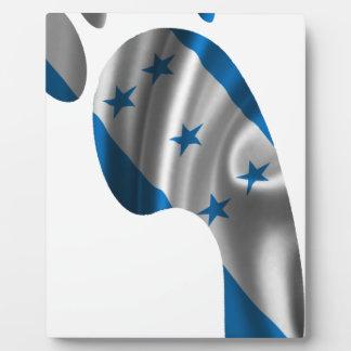 HONDURAS FLAG PRODUCTS DISPLAY PLAQUES