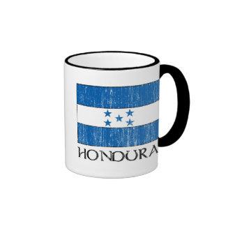 Honduras Flag Ringer Mug