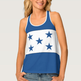 Honduras Flag Tank Top