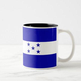 Honduras Flag Two-Tone Coffee Mug