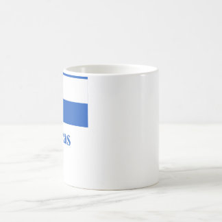 Honduras Flag with Name Coffee Mug