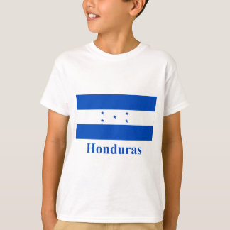 Honduras Flag with Name T-Shirt