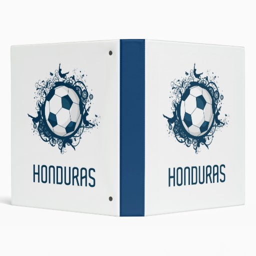 Honduras Football 3 Ring Binder