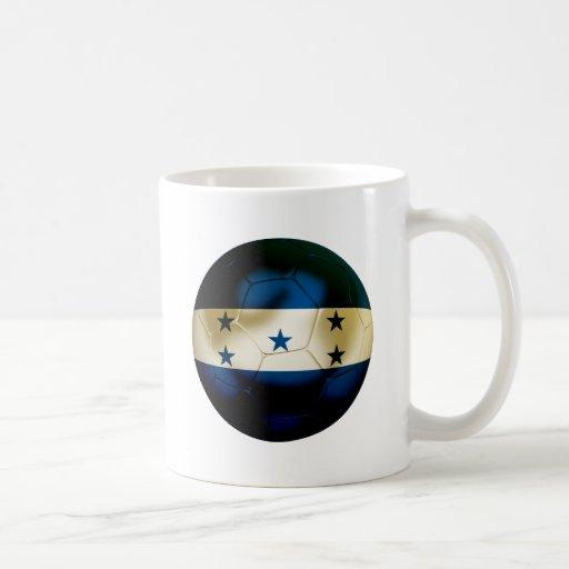 Honduras Football Classic White Coffee Mug