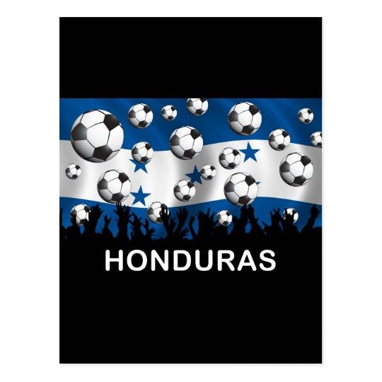 Honduras Football Postcard