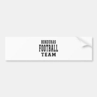 Honduras Football Team Car Bumper Sticker