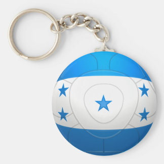 Honduras - fútbol del Los Catrachos Llavero Redondo Tipo Pin