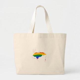 HONDURAS GAY PRIDE TOTE BAGS