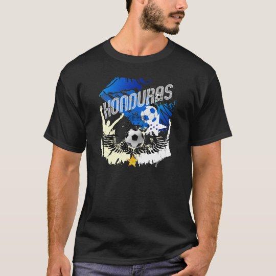 Honduras Grunge flag futbol festa soccer design T-Shirt