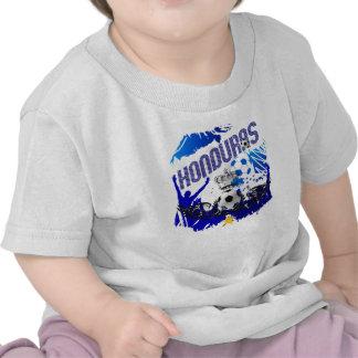 Honduras Grunge flag soccer futbol celebration T Shirt