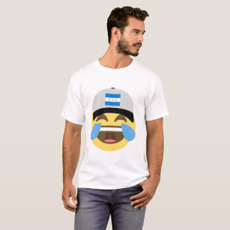 Honduras Hat Laughing Emoji T-Shirt