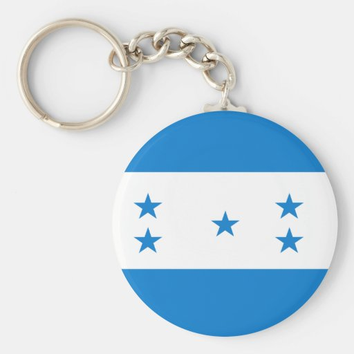 Honduras High quality Flag Keychain