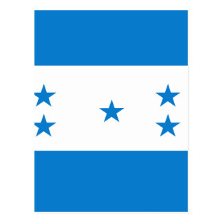 Honduras High quality Flag Postcard