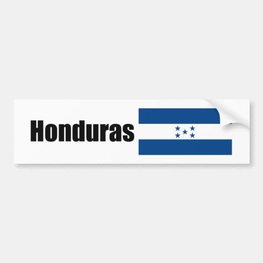 Honduras, Hondurian flag Bumper Stickers