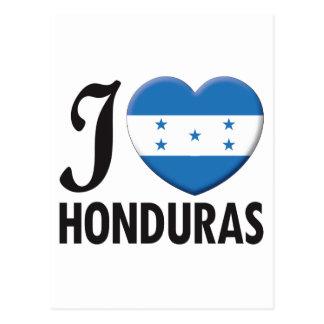 Honduras Love Post Card