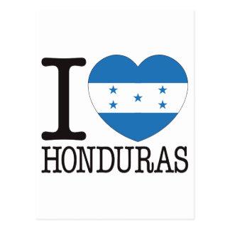 Honduras Love v2 Post Card