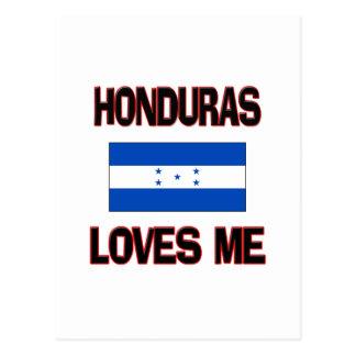 Honduras Loves Me Postcards