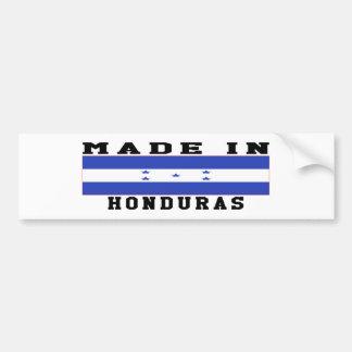 Honduras Made In Designs Car Bumper Sticker