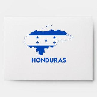 HONDURAS MAP ENVELOPE