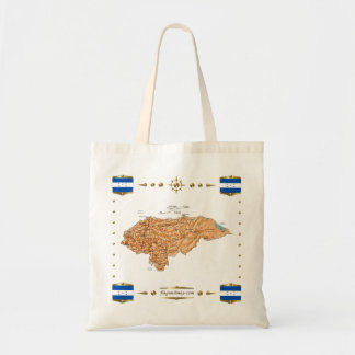 Honduras Map + Flags Bag
