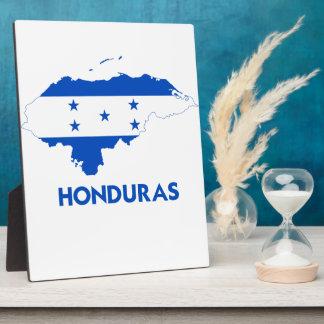 HONDURAS MAP PHOTO PLAQUE
