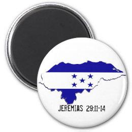 Honduras Mission Jeremias 29:11-14 - Customized Magnet