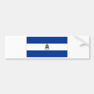 Honduras Naval Ensign Bumper Sticker