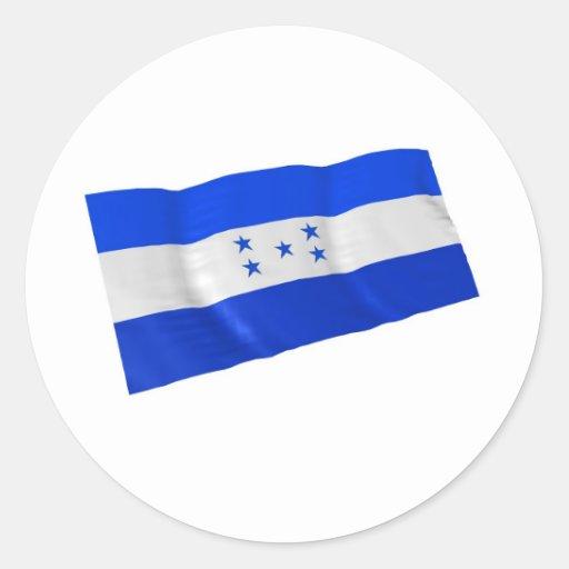 Honduras Pegatina Redonda