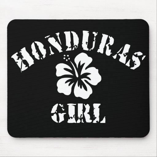 Honduras Pink Girl Mouse Pad